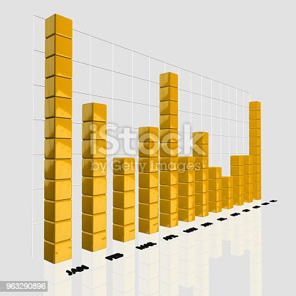 850495466 istock photo Financial and Technical Data Analysis Graph 963290896