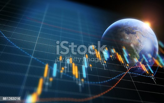 850495466 istock photo Financial and Technical Data Analysis Graph Showing Global Trends 881263016