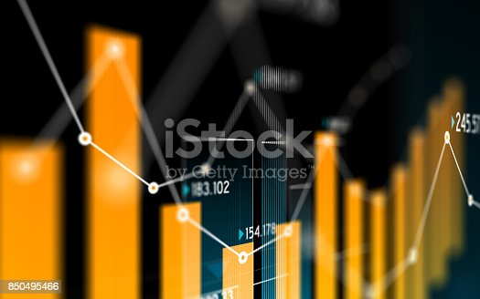 istock Financial and Technical Data Analysis Graph Showing Search Findings 850495466