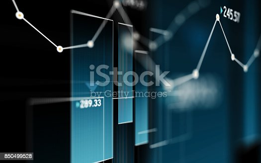 850495466 istock photo Financial and Technical Data Analysis Graph Showing Search Findings 850499528