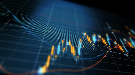 istock Financial and Technical Data Analysis Graph Showing Search Findings 877278518