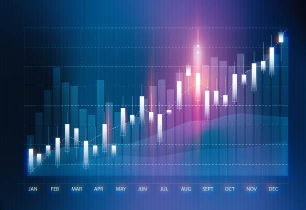 gráfico de análise de dados técnicos e financeiros mostrando resultados de pesquisa - infographic - fotografias e filmes do acervo