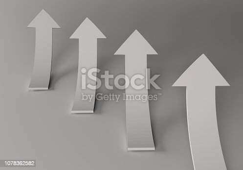 172869494 istock photo financial arrows on a white background 1078362582
