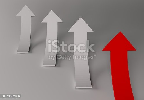 172869494 istock photo financial arrows on a white background 1078362604