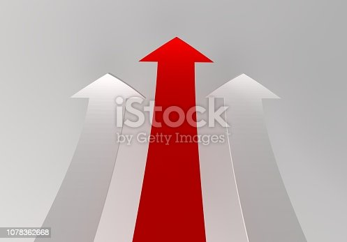 172869494 istock photo financial arrows on a white background 1078362668