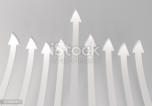 172869494 istock photo financial arrows on a white background 1078362672