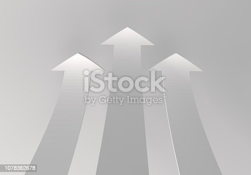 172869494 istock photo financial arrows on a white background 1078362678