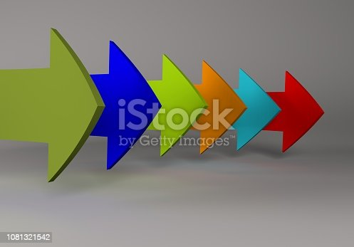172869494 istock photo financial arrows on a white background 1081321542