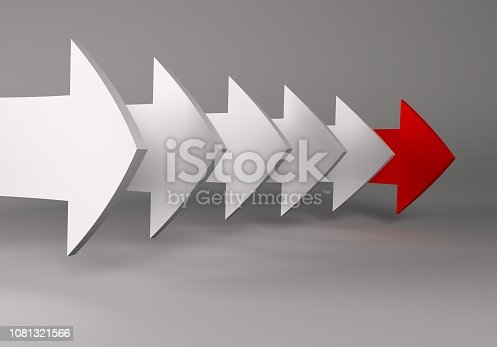 172869494 istock photo financial arrows on a white background 1081321566