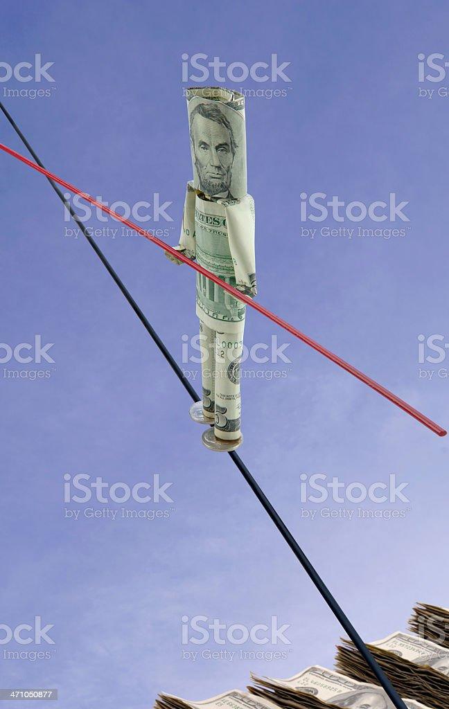 Financial Balance royalty-free stock photo