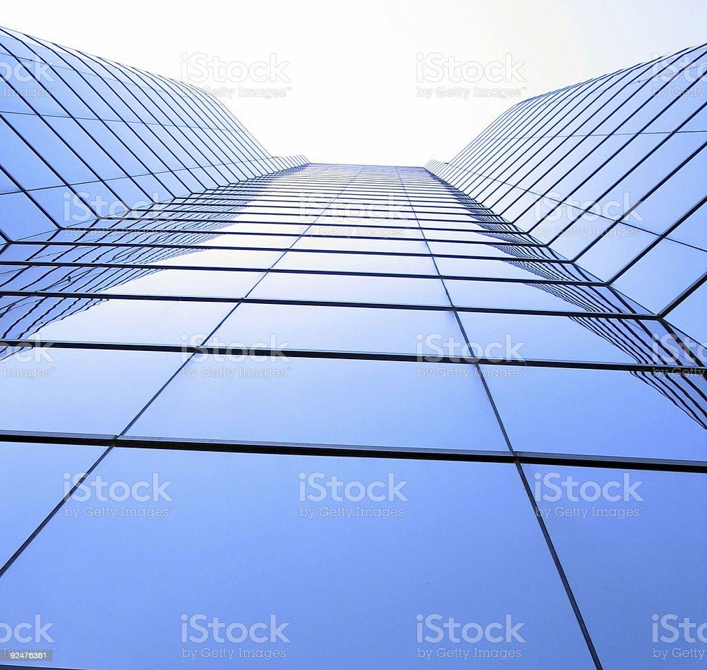Finanzgebäude Lizenzfreies stock-foto