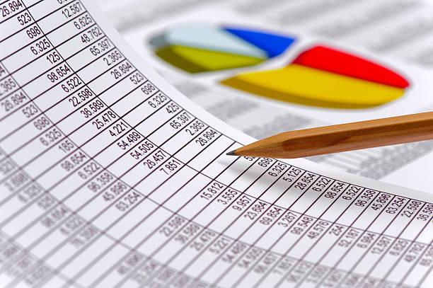 Finanzielle business-Berechnung  – Foto