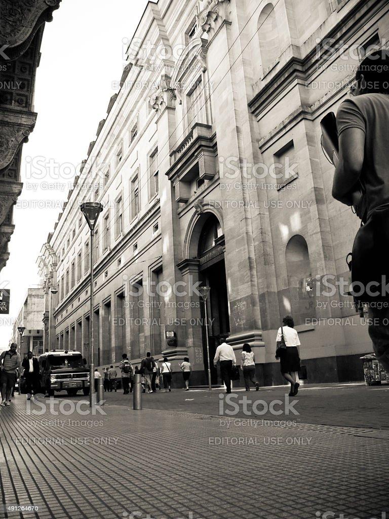 Centro financeiro de Buenos Aires, Argentina - foto de acervo