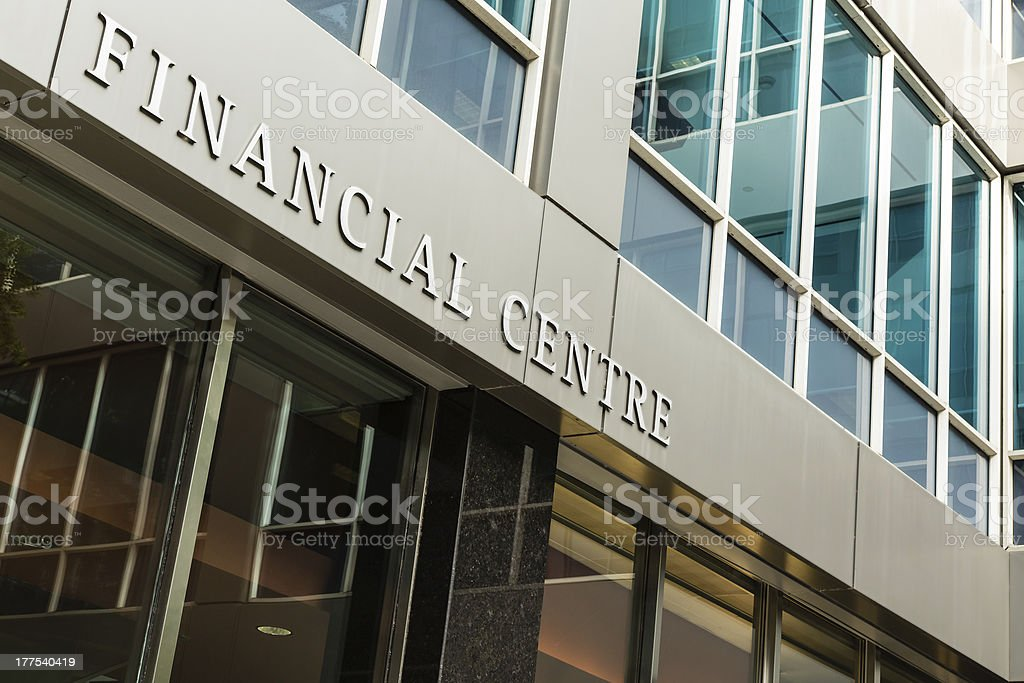 Financial Centre royalty-free stock photo