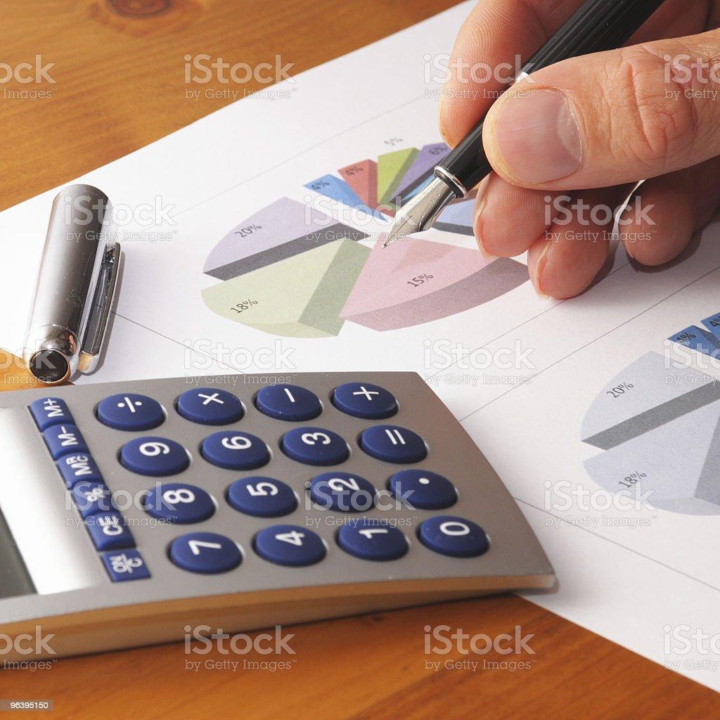 金融チャート - オフィスのロイヤリティフリーストックフォト