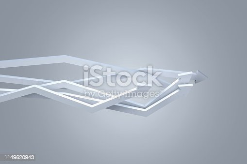 1149620931 istock photo Financial Chart with Arrows 1149620943