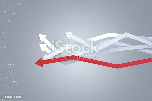 1149620931 istock photo Financial Chart with Arrows 1149621139