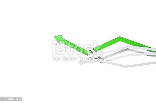 1149620931istockphoto Financial Chart with Arrows 1149621320