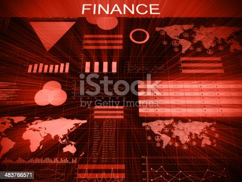 155351584istockphoto Financial charts abstract business graph 483766571