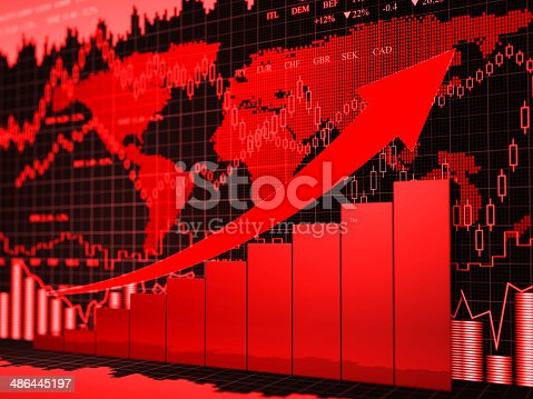 155351584 istock photo Financial charts abstract business graph 486445197
