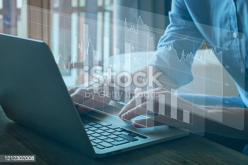 istock financial charts, business analytics and intelligence concept 1212302008