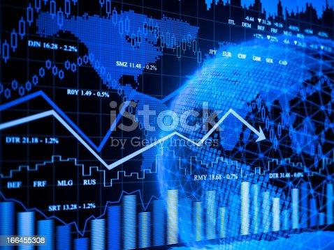 istock Financial charts 166455308