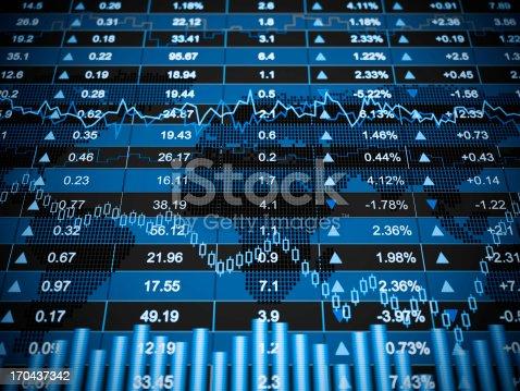 istock Financial charts 170437342