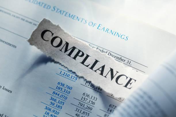 finanzielle compliance - wirtschaftsrecht stock-fotos und bilder