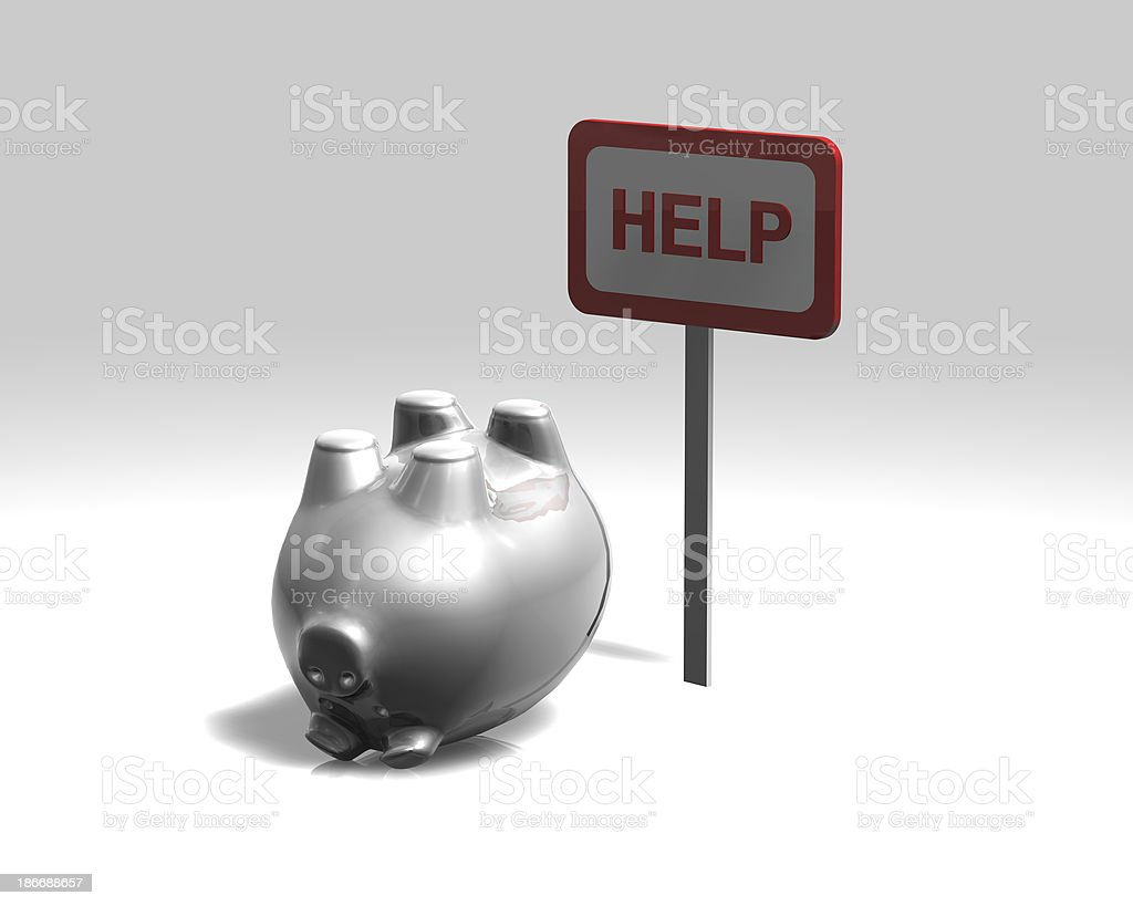 financial concept illustration royalty-free stock photo