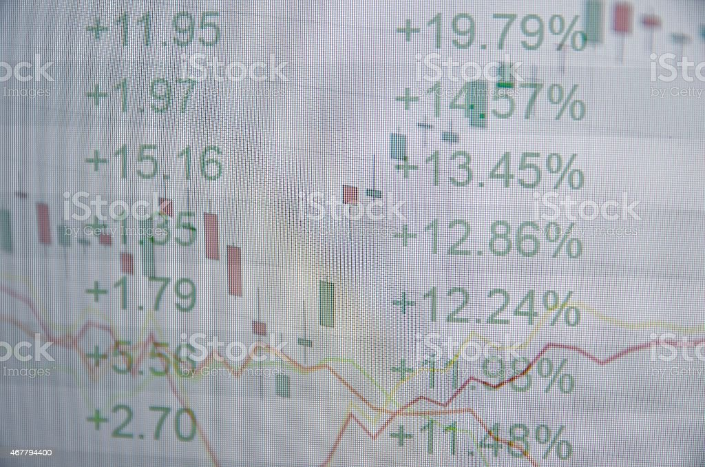 Financial concept. stock photo