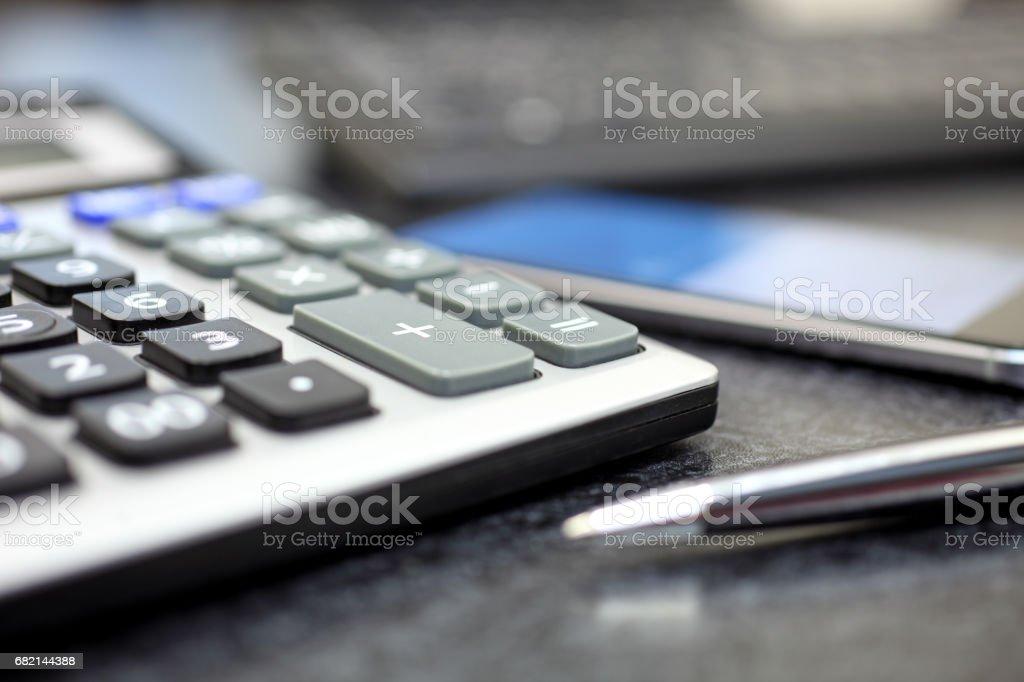 Finanzielle-Konzept - Lizenzfrei Analysieren Stock-Foto