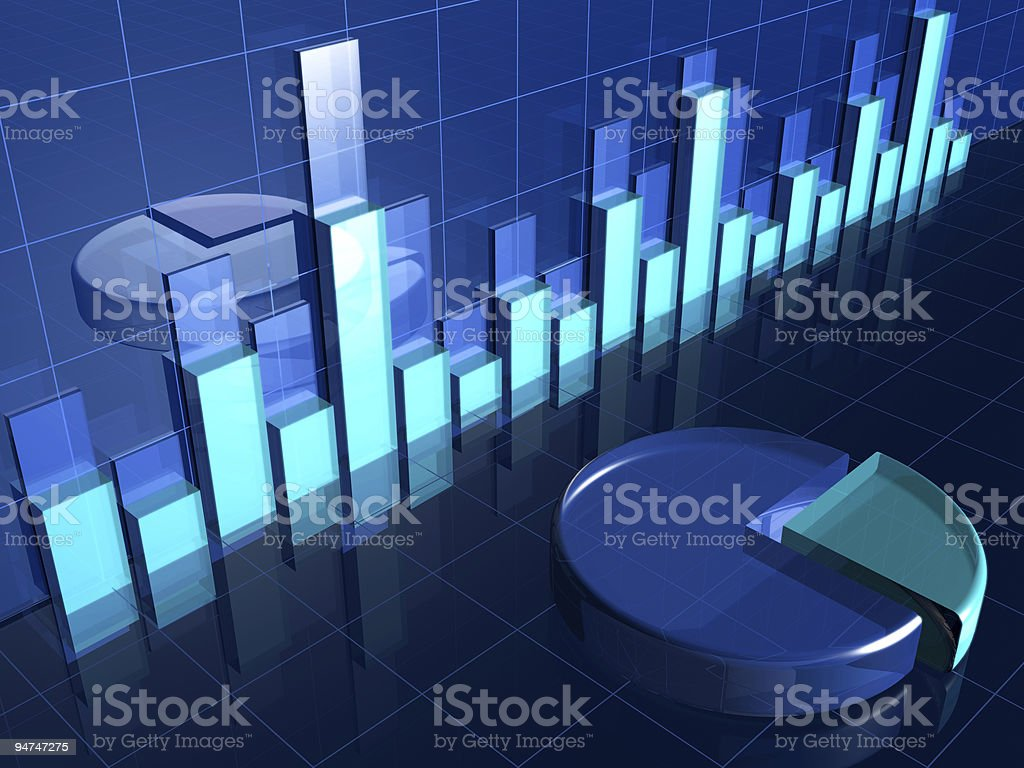Financial concept royalty-free stock photo