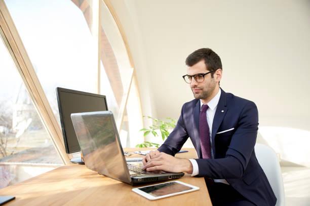 Finanzberater Geschäftsmann – Foto