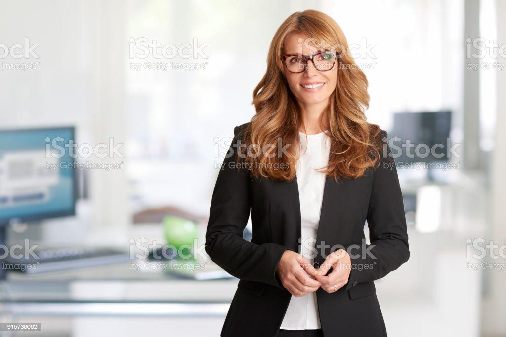 Financial consultant businesswoman стоковое фото