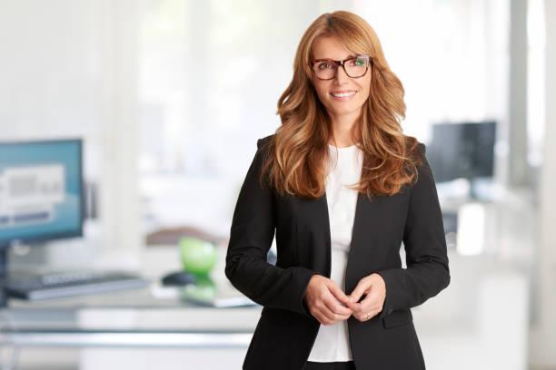 Cтоковое фото Financial consultant businesswoman