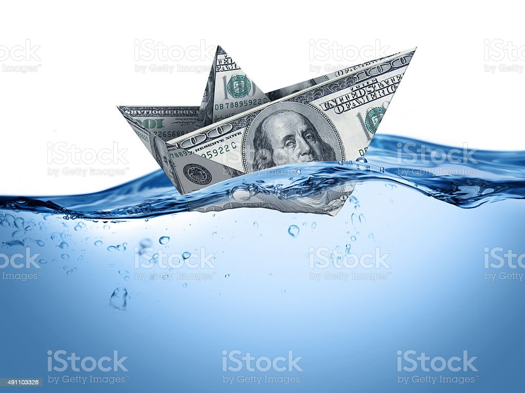 Financial crisis Financial crisis in currency exchange 2015 Stock Photo