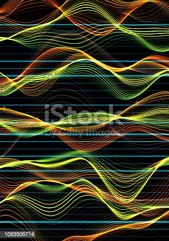 istock Financial Data Analysis Graph 1053505714