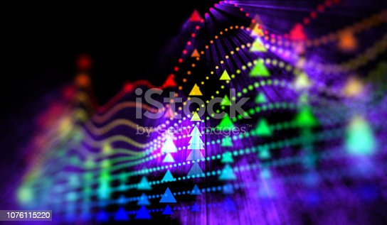 istock Financial Data Analysis Graph 1076115220