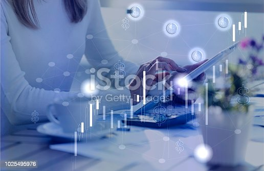 913603748 istock photo Financial Data Analysis Graph Showing Market Trends 1025495976