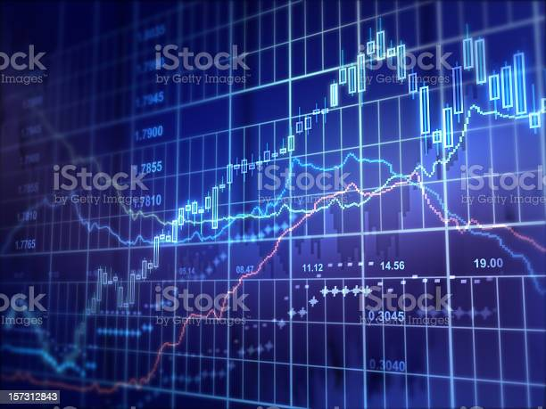 Financial Diagram Stock Photo - Download Image Now