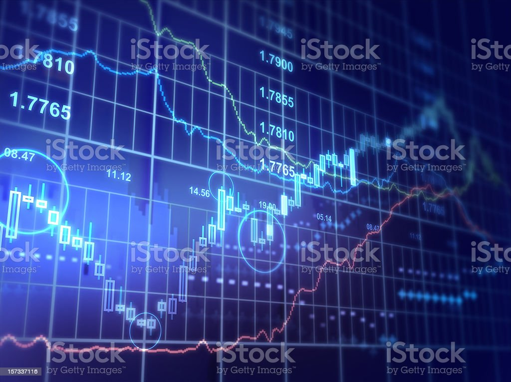Financial Diagram royalty-free stock photo