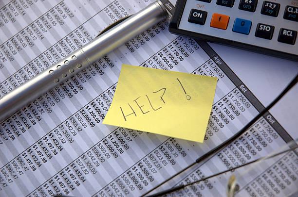 Difficulté financière - Photo