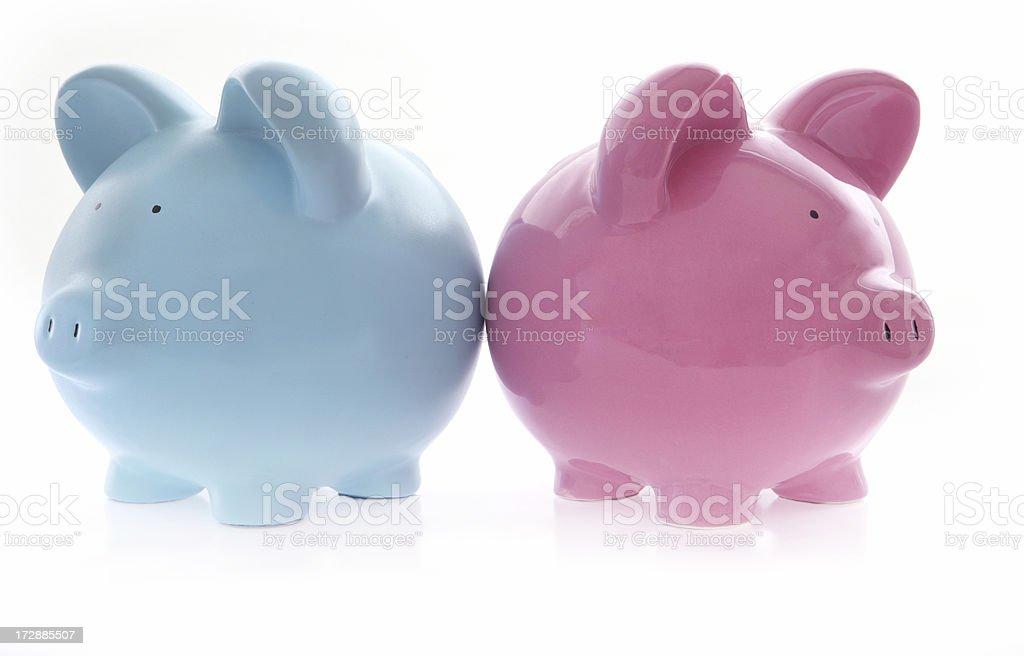 Financial Disputes royalty-free stock photo