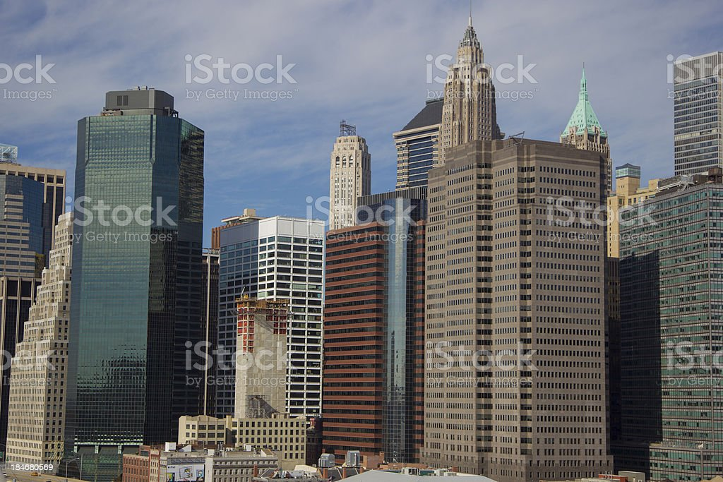 Financial District Building royalty-free stock photo