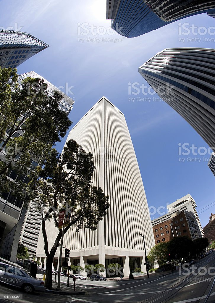Financial District II royalty-free stock photo