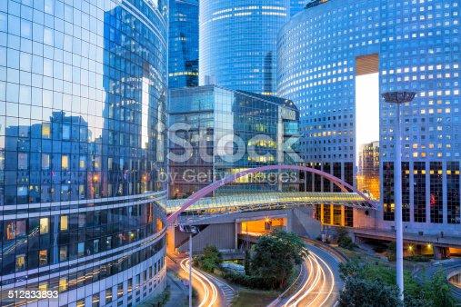 889637894 istock photo Financial District La Defense in Paris, France 512833893