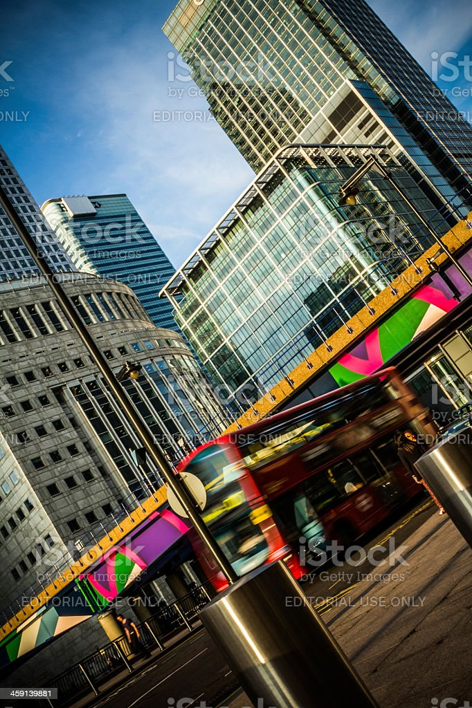 Financial District, London stock photo