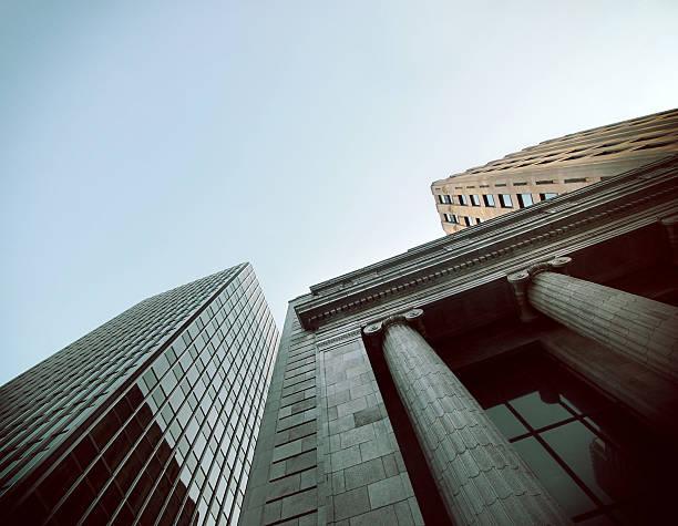 Distrito financiero - foto de stock