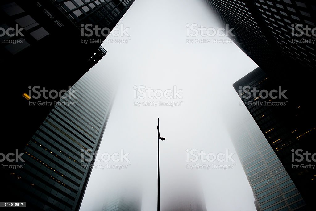 Financial District stock photo