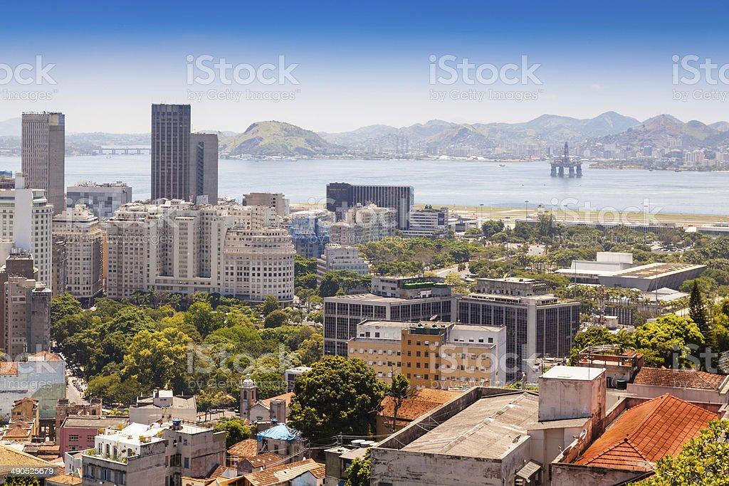 Financial Downtown  Rio de Janeiro, Brazil stock photo